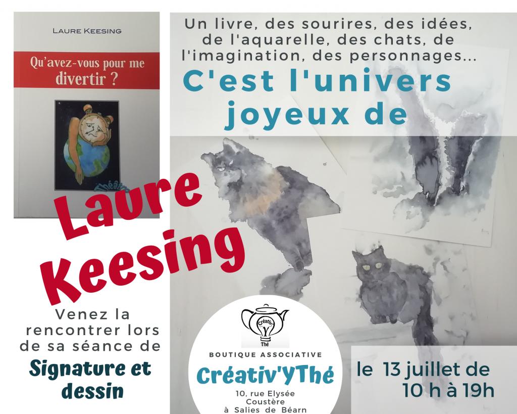 Venez découvrir l'univers joyeux de Laure keesing